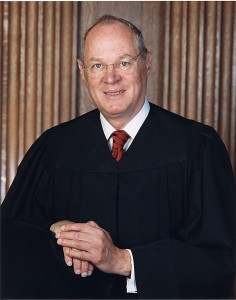 Justice Anthony Kennedy (via Wikimedia)